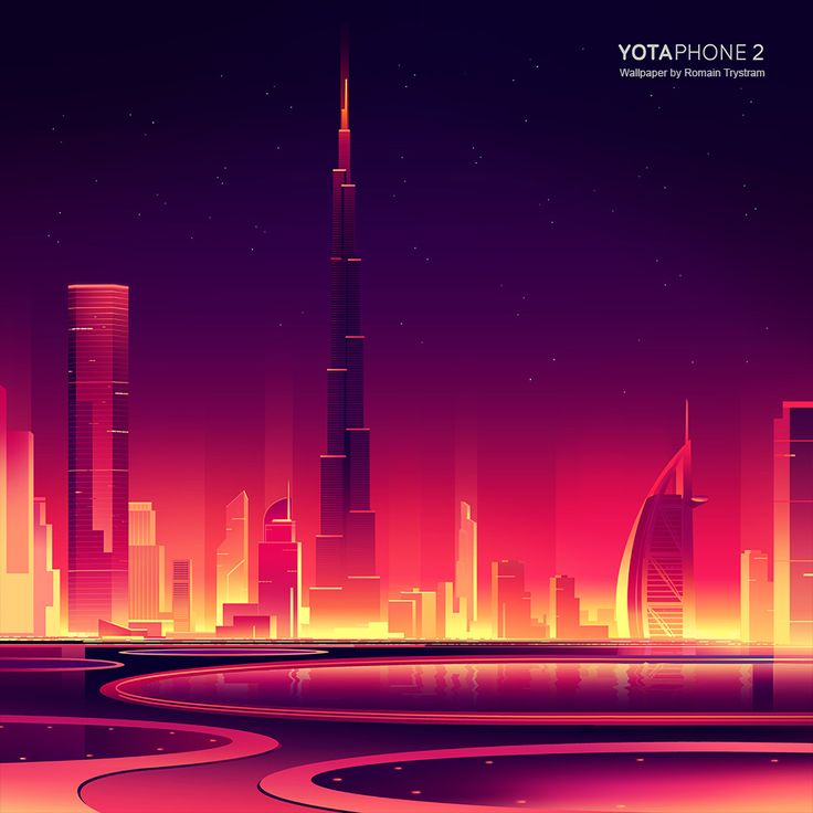 Yota phone 2 official wallpapers