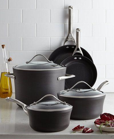 Calphalon Contemporary Nonstick 8-Pc. Cookware Set
