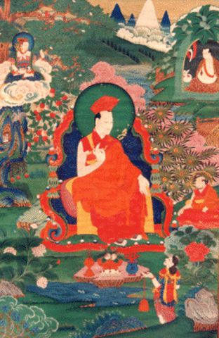 The birth of great wisdom ~ Gampopa http://justdharma.com/s/sdvet  Great wisdom will not take birth in you  If you have earned little merit.  – Gampopa  source: http://www.lionsroar.com/the-power-of-positive-karma/