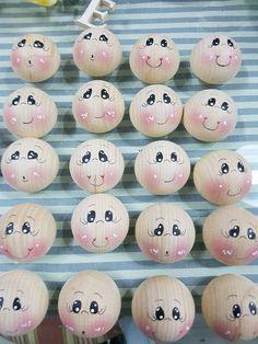 Risultati immagini per palline di ovatta disegnare occhi