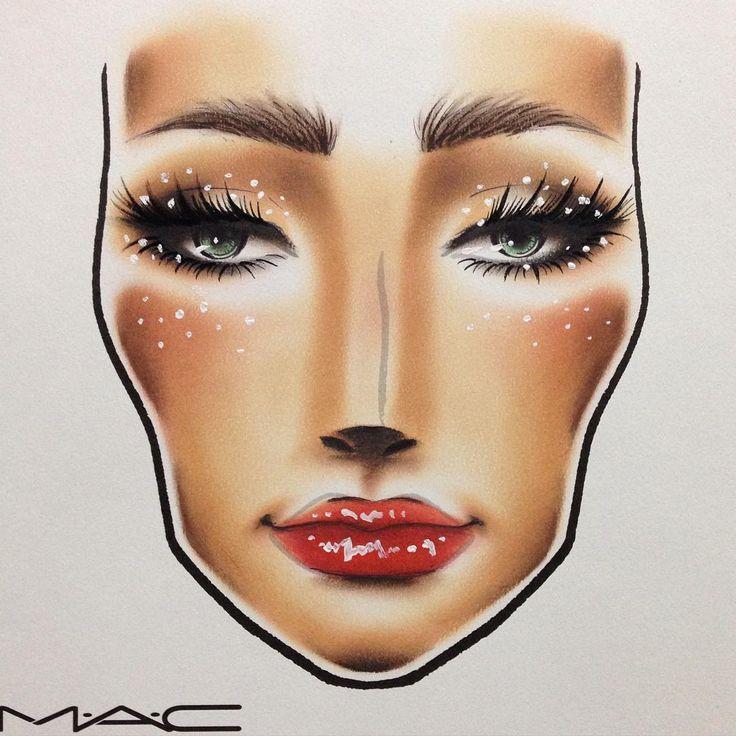 Irresistibly Charming 🎀💛  26日発売❤︎これからのXmasシーズンにぴったりのキラキラシャドウ✨💖  自然に仕上げた目元にゴールドのグリッターをフワッと重ねれば、夜のライトに上品に映える仕上がりになります🙈✨  しかもケースが可愛い!アクセサリーケースにしようかな💘  #mac #irresistiblycharming #glitter #pigments #makeup #facechart #myartistcommunityjp #okachaiwaman #myartistcommunity  #グリッター #ピグメント #フェイスチャート