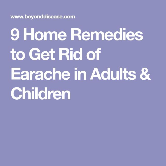 9 Home Remedies to Get Rid of Earache in Adults & Children