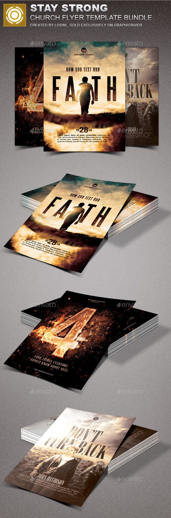 ideas about marketing flyers flyer design stay strong church marketing flyer template psd bundle here