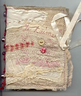 Fabric book from Just Lilla: embroidery, stitchery and patchwork.