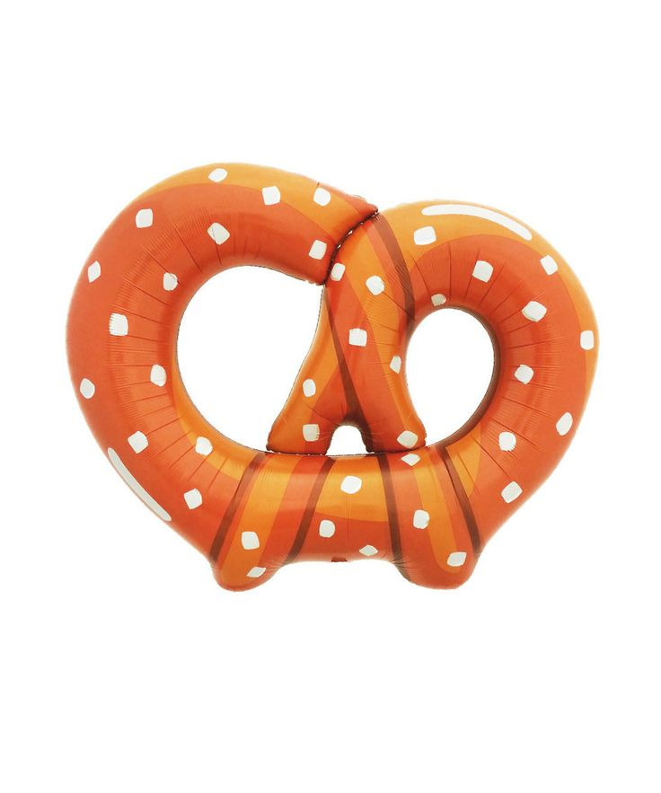 Take me out to the ball game and buy me a pretzel and this pretzel balloon! We love how fun this is and it's perfect for that baseball, Octoberfest, or pretzel making party! 1 Balloon, 41 x 32 Inches