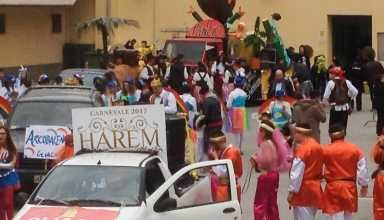 Piraino - L'allegria assoluta protagonista della sfilata dei carri allegorici e dei gruppi mascherati - http://www.canalesicilia.it/piraino-lallegria-assoluta-protagonista-della-sfilata-dei-carri-allegorici-dei-gruppi-mascherati/ Carnevale 2017, Gliaca di Piraino