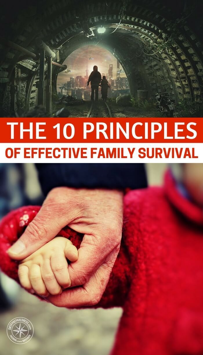 The 10 Principles of Effective Family Survival | Posted by: SurvivalofthePrepped.com