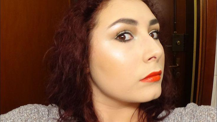 TRUCCO INVERNALE: Labbra Arancioni, Occhi Argento e SOPRACCIGLIA NERE???...
