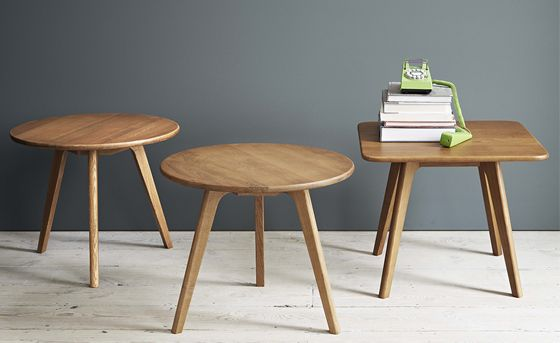 Larssen Scandinavian Coffee Table and Side Table Styled | Brissi Blog