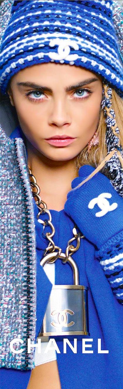 Show Off! Designer Jewellery  Chanel Accessories Fall/Winter 2014-2015 Cara Delvingne