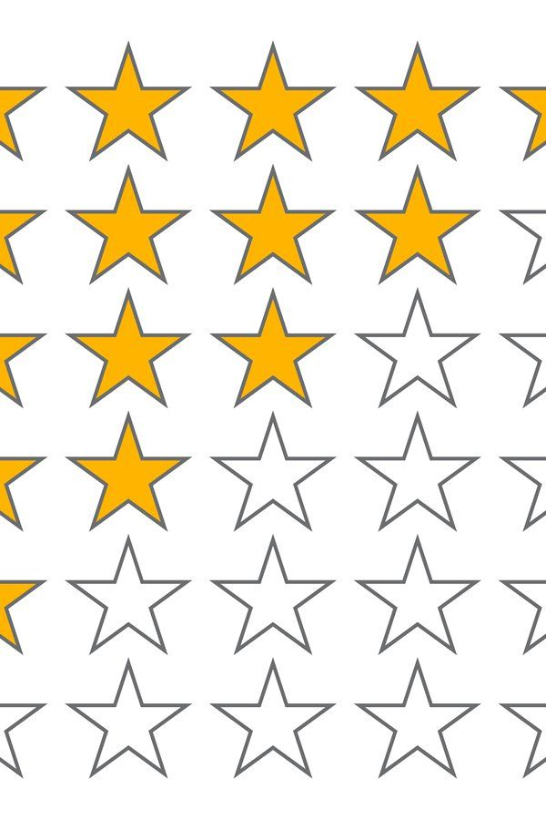 Row Of Five Stars Rate 5 Star Rating Vector Icons Isolated 909304 Icons Design Bundles Vector Icons Icon Design Design Bundles