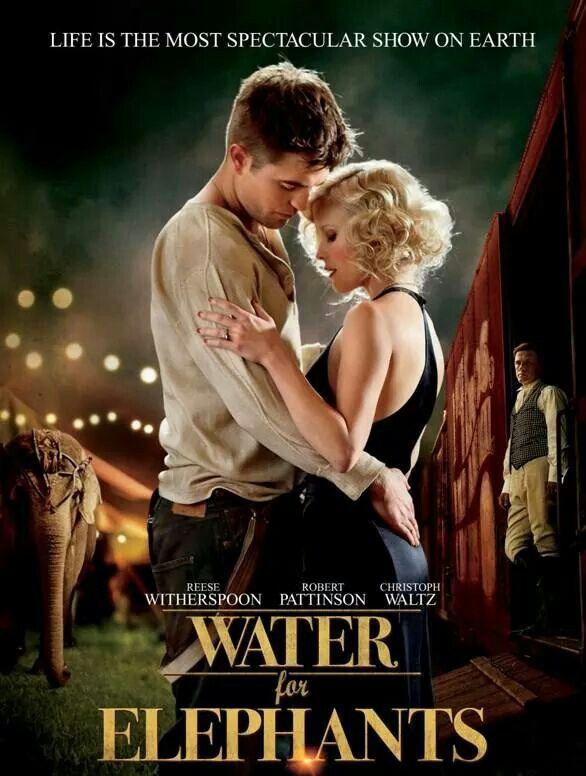 Come l'acqua per gli elefanti - Robert Pattinson e Reece Whiterspoon