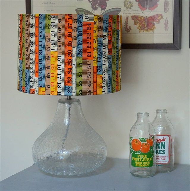 1000 lampshade ideas on pinterest diy lampshade throw for Diy lampshade ideas