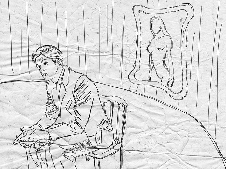 Η ποίηση που θέλει εραστές - Κείμενο: Διάνα Σεϊτανίδου - Σχέδιo: Μάκης Σεμερτζίδης