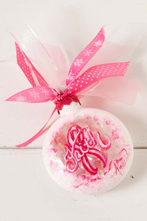 Breast Cancer Awareness Ornament Craft Ideas Pinterest