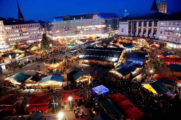 German Christmas Market in Kassel - Weihnachtsmarkt. http://www.weihnachtsmarkt-kassel.de/ #kassel #hessen #nordhessen