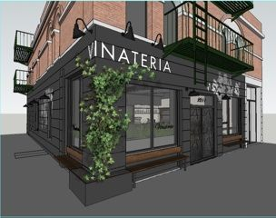 Take a look at rendering of upcoming Harlem restaurant, Vinateria, which will be on FDB & 119th Street