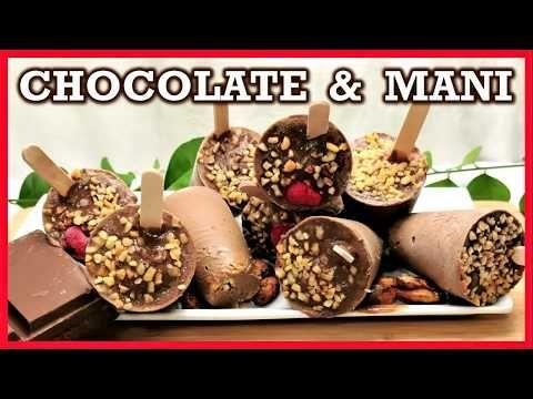 HELADOS DE CHOCOLATE – Helado de chocolate casero – Helado casero fácil y …   – Helados Ideas