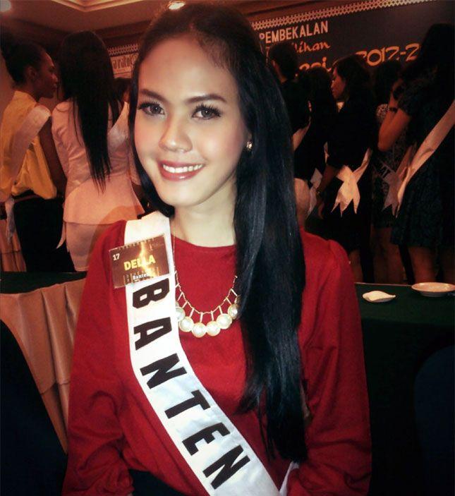 Della Dartyan, Putri Indonesia Banten 2012-2013
