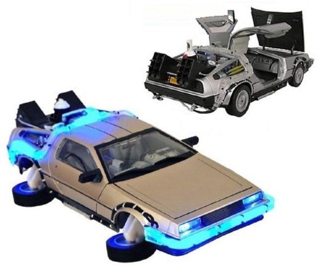 $35 BACK TO THE FUTURE II 2 1:15 SCALE DELOREAN DIAMOND SELECT TIME MACHINE - NIB #DiamondSelect #DeLorean #BackToTheFutre #BTTF #GeekToy