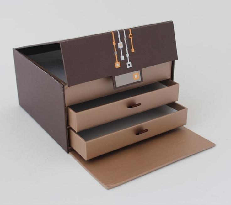 Chocolate Colored Cake Boxes