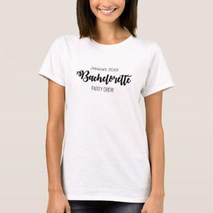 #Custom Bachelorette T-Shirt - #Bachelorette #T-shirts #Bride #Squad #Teambride