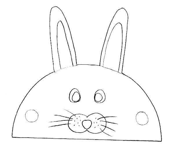 Imprimer le mod le de marionnette doigt lapin t te modeler coloriage imprimer - Marionnettes a doigts a imprimer ...
