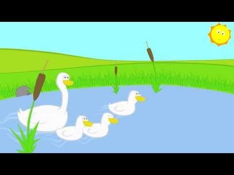 Детские Песни - Детские песни - про маленьких утят - мультики для самых маленьких - YouTube