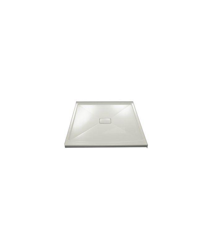 Kohler K-9395 Center Drain Shower Receptor from the Archer Series Ice Grey Showers Shower Pans Single Threshold