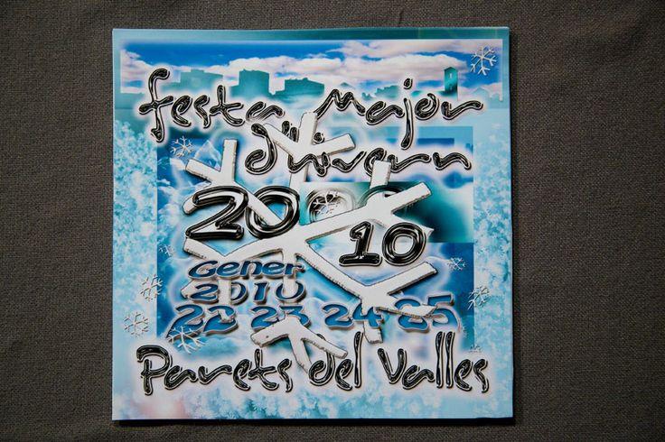Lliurament del premi del concurs de disseny per a la imatge de la Festa Major d'Hivern 2010 - Ajuntament de Parets del Vallès