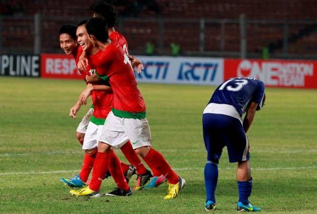 Indonesia Pukul Laos 4-0