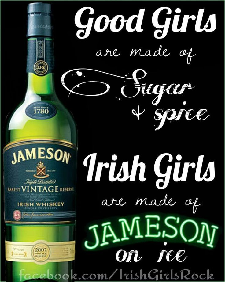 ummmm... as far as I know, Jameson doesnt go on ice... Every Irish girl knows that.