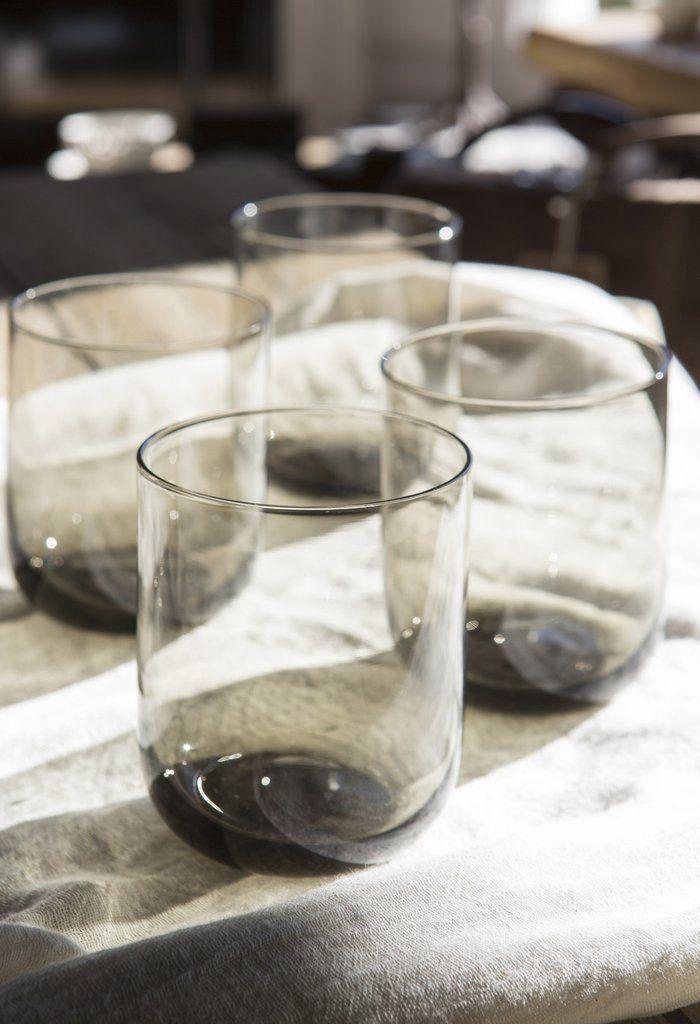 Amber glass | Tumblers | set of tumblers | Homewares