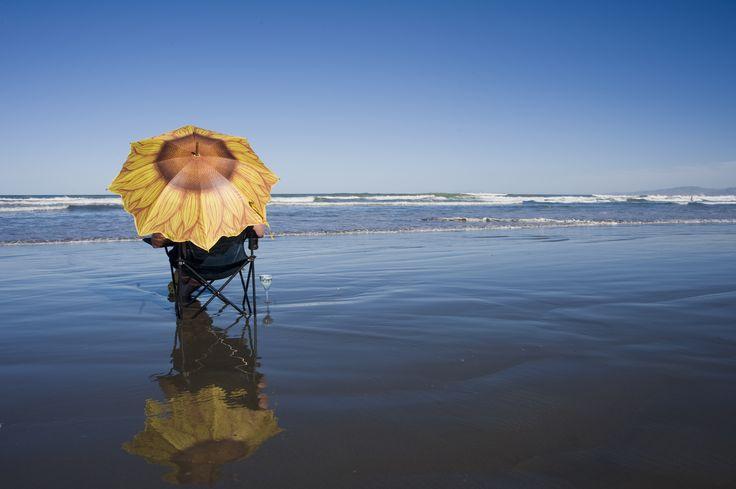 Beach time - Waikuku Beach