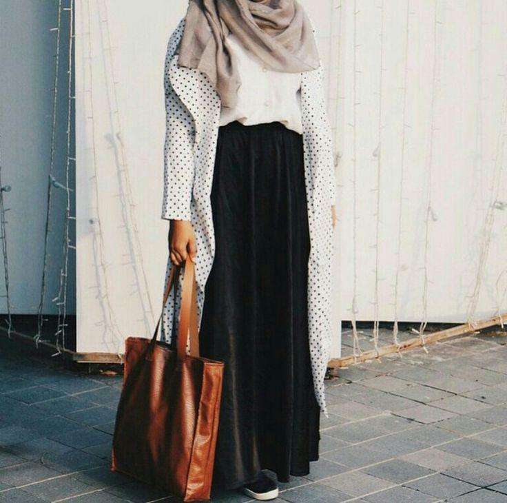 1000 Images About Hijab Fashion On Pinterest Long Cardigan Abayas And Maxi Cardigan