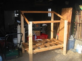 #chickens   How to build a chicken coop for free