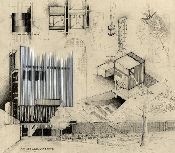 Best Architectural Drawing Concepts Models Images On
