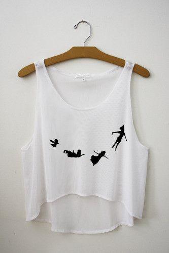 Disney Peter Pan Flying Shirt