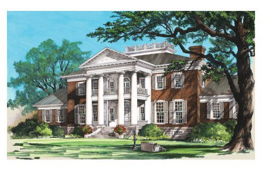 I just love southern style homes homes i love for Southern mansion house plans
