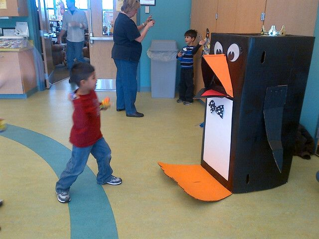 Penguin Fish Toss.  Could also be a cute book return for the library.