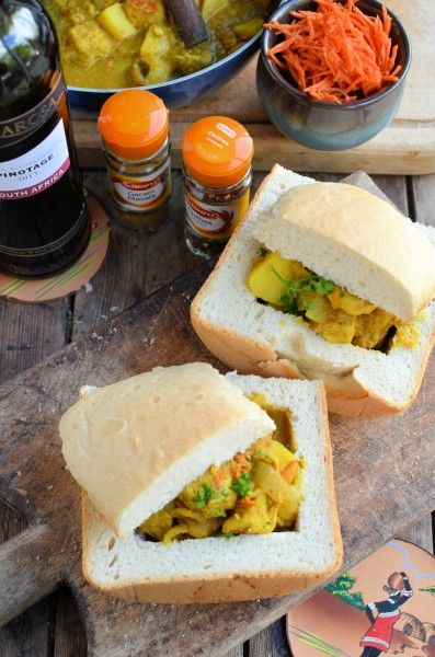 """South African """"Street Food"""" Bunny Chow"""