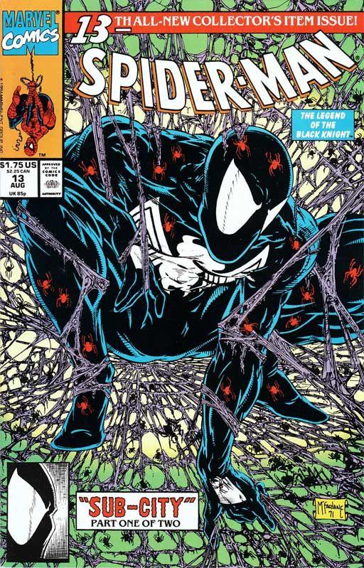 SPIDER-MAN #13  Homage to SPIDER-MAN #1 - Todd McFarlane
