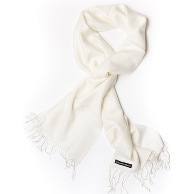 Winter White Pashmina by ColorMeSocks™
