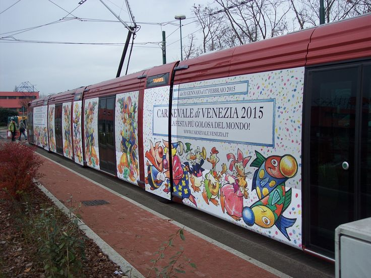 Tram di Mestre - advertising dinamico