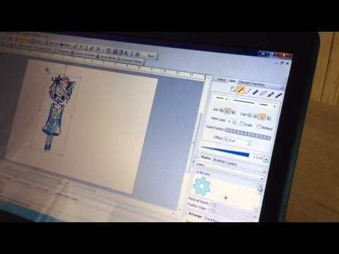 ▶ Adding outlines to Digital Images using Serif Craft Artist 2 - YouTube