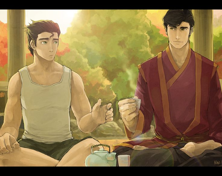 LoK - Of Tea And Comfort by =Nazgullow on deviantART