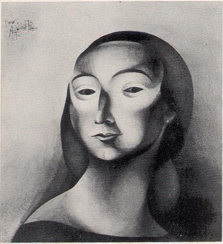 Desenho ,1923  Lápis ,papel.  José de Almada Negreiros (1873 - 1970 )