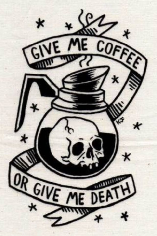 GOODIE -- THEY'VE STARTED SERVING IT AT THE TOMBSTONE CAFE - SO, I GUESS DEATH'S…