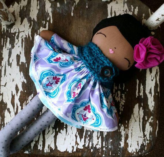 Bespoke Doll Heirloom Quality Doll SpunCandy Handmade by SpunCandy