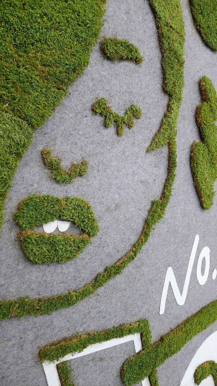 die besten 25 moos kunst ideen auf pinterest moss. Black Bedroom Furniture Sets. Home Design Ideas